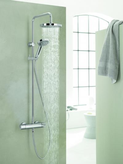Esőztető és kézizuhany - fürdő / WC ötlet