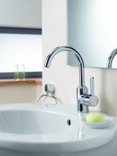 Modern mosdó csaptelep - fürdő / WC ötlet, modern stílusban