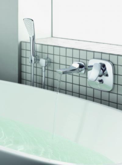 Különleges kád csaptelep és zuhany - fürdő / WC ötlet