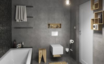 Csaptelepek modern stílusban - fürdő / WC ötlet