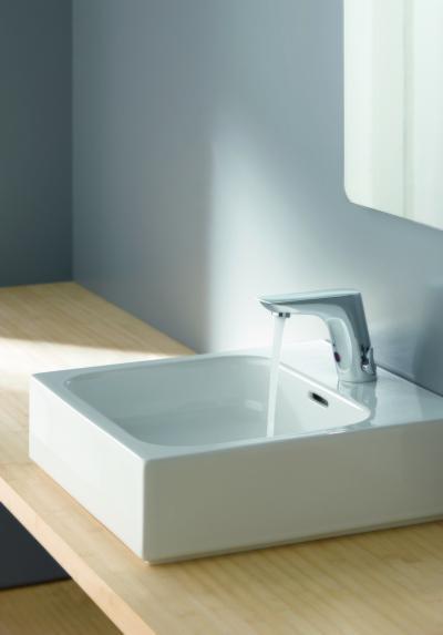 Szenzoros mosdó csaptelep - fürdő / WC ötlet