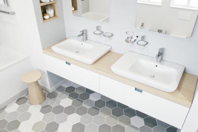 Egykaros mosdó csaptelepek - fürdő / WC ötlet, modern stílusban