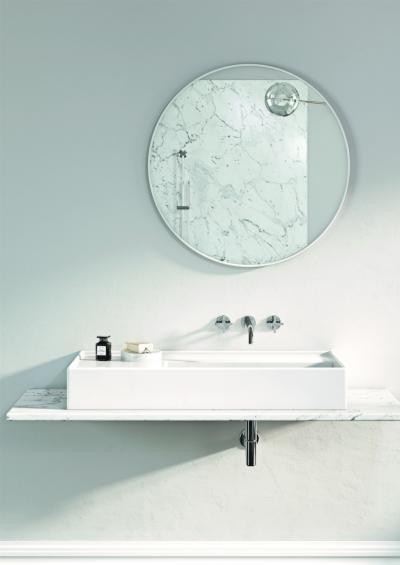 Fali csap mosdóhoz - fürdő / WC ötlet