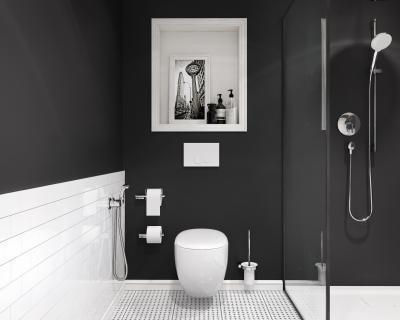 Zuhany és bidé csapok - fürdő / WC ötlet