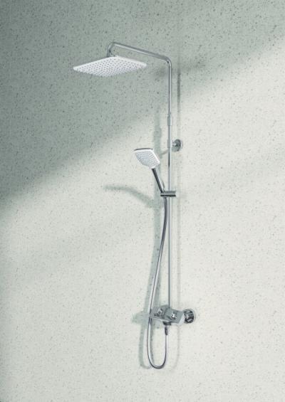 Fejzuhany és kézizuhany - fürdő / WC ötlet, modern stílusban