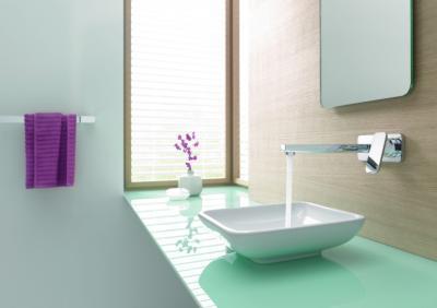 Egykaros fali csap - fürdő / WC ötlet