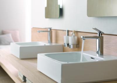 Egykaros mosdó csaptelep - fürdő / WC ötlet, modern stílusban