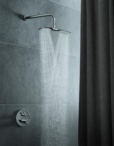 Esőztető zuhany - fürdő / WC ötlet
