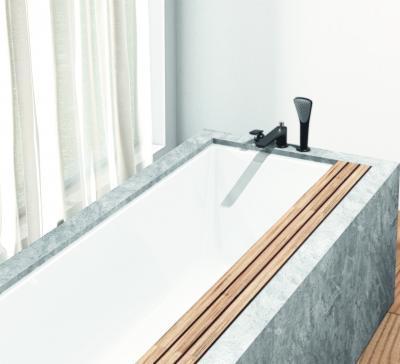 Fekete csaptelep és kézizuhany - fürdő / WC ötlet
