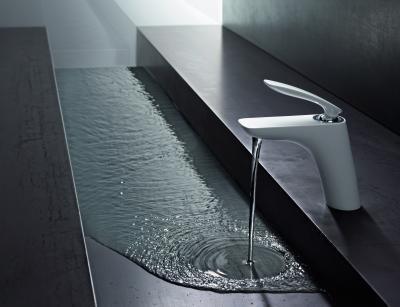 Fehér csaptelep - fürdő / WC ötlet