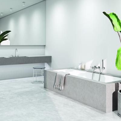 Formatervezett kád csaptelep és kézizuhany - fürdő / WC ötlet