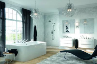 Formatervezett csaptelepek és zuhanyok - fürdő / WC ötlet