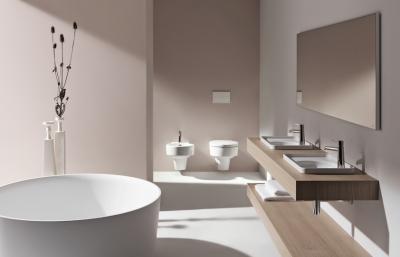 Minimál stílusú fürdőszoba - fürdő / WC ötlet