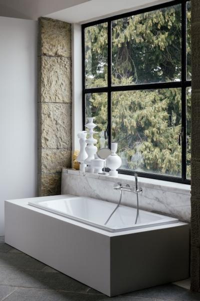 Kényelmes fürdőkád - fürdő / WC ötlet
