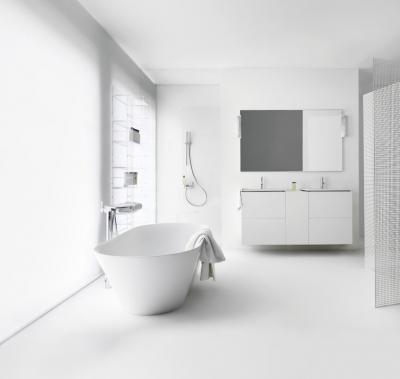 Fehér szaniterek - fürdő / WC ötlet