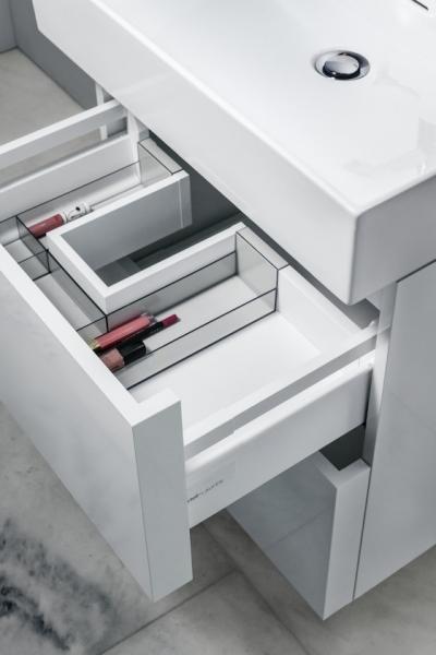 Fiókos tároló fürdőszobába - fürdő / WC ötlet, modern stílusban