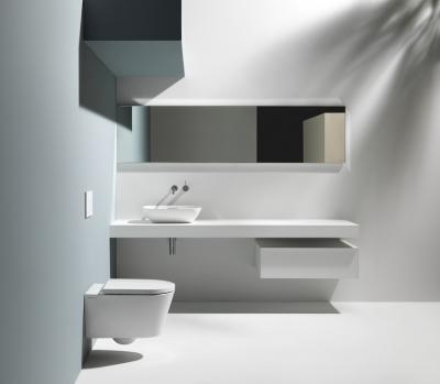 Minimál fürdőszoba - fürdő / WC ötlet