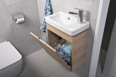 Praktikus mosdószekrény - fürdő / WC ötlet, modern stílusban
