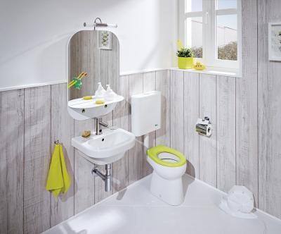 Hagyományos szaniterek - fürdő / WC ötlet, rusztikus stílusban