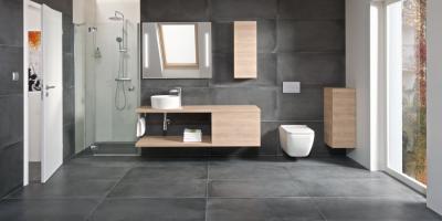Nagyméretű fürdőszoba - fürdő / WC ötlet
