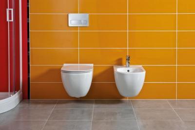 Bidé és wc - fürdő / WC ötlet, modern stílusban