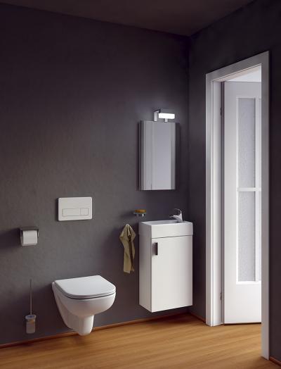 Kicsi fürdőszoba - fürdő / WC ötlet