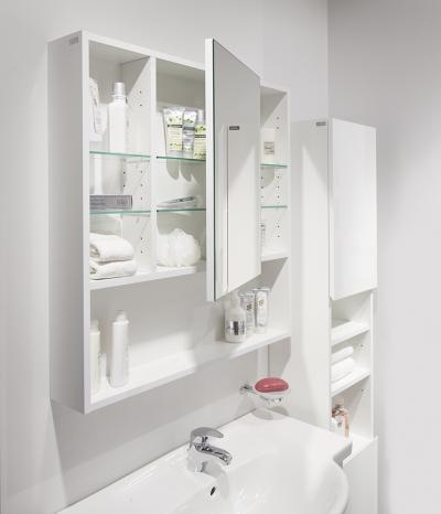 Fehér fürdőszoba - fürdő / WC ötlet