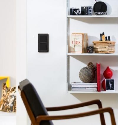 Berker Q.7 pala kapcsoló - nappali ötlet, modern stílusban