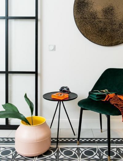 Berker R.3 - a kör és a négyzet találkozása - nappali ötlet, modern stílusban