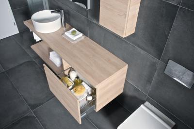 Praktikus mosdószekrény - fürdő / WC ötlet
