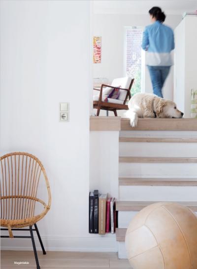 Konnektor és kapcsoló - nappali ötlet, modern stílusban