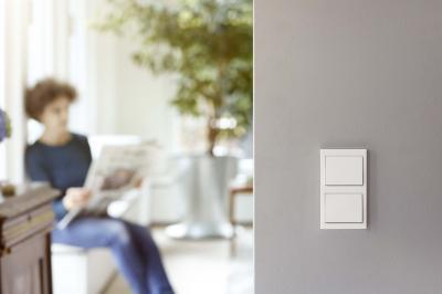 Dupla kapcsoló - nappali ötlet, modern stílusban