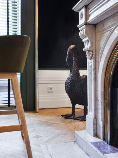 Klasszikus konnektor - nappali ötlet, klasszikus stílusban