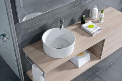 Kerek mosdó - fürdő / WC ötlet, modern stílusban