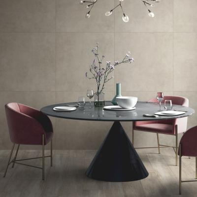 Beton hatású csempe - konyha / étkező ötlet, modern stílusban