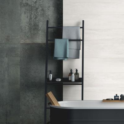 Grafit szürke csempe - fürdő / WC ötlet