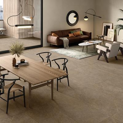 Hidegburkolat a padlón - nappali ötlet, modern stílusban