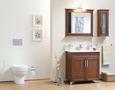 Klasszikus fürdőszoba - fürdő / WC ötlet