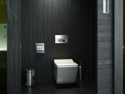 Szögletes fali wc - fürdő / WC ötlet