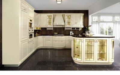 Hagyományos konyha modern stílusban - konyha / étkező ötlet