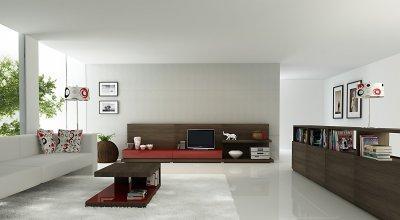 Nappali bútor összeállítás - nappali ötlet