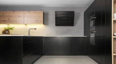 Titanium - tölgy kombináció - konyha / étkező ötlet