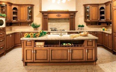 Konyhabútor rusztikus stílusban - konyha / étkező ötlet