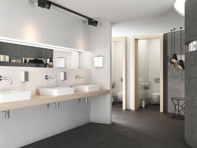 Modern mosdók - fürdő / WC ötlet, modern stílusban