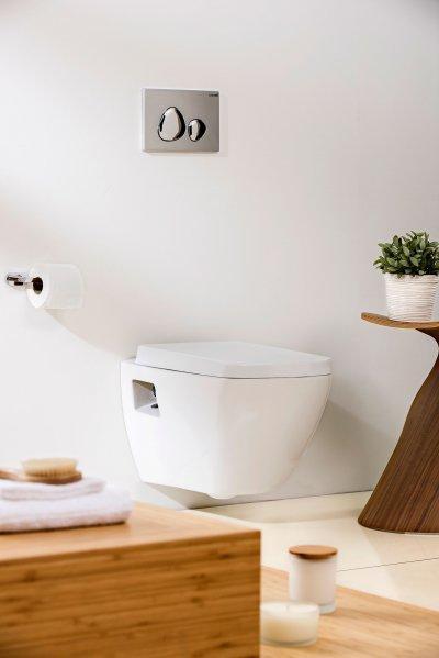 Fali wc - fürdő / WC ötlet, modern stílusban
