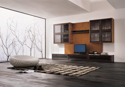 Hűvös modern - nappali ötlet, modern stílusban