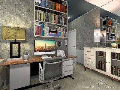 Hygge home office 2021. - nappali ötlet