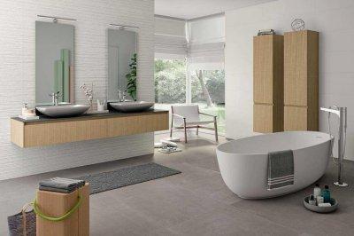Marazzi_Essenziale burkolat - fürdő / WC ötlet, modern stílusban