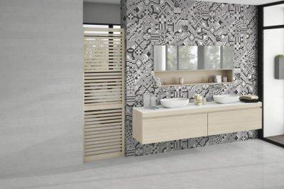 Emigres_Dover burkolat - fürdő / WC ötlet, modern stílusban