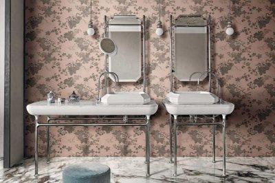 Rex_Filati burkolat - fürdő / WC ötlet, klasszikus stílusban